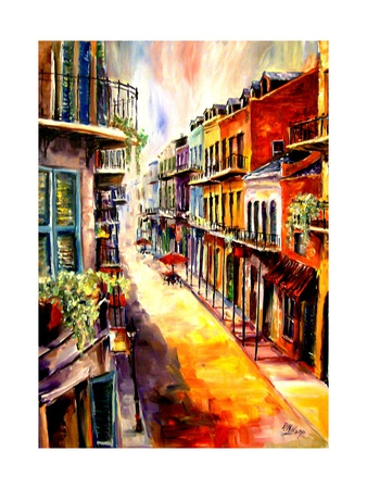 View from a French Quarter Window Prints by Diane Millsap