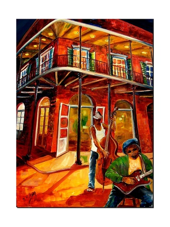 Jazz in the Big Easy Prints by Diane Millsap