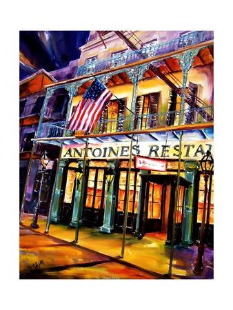 Antoines Restaurant in the French Quarter Prints by Diane Millsap