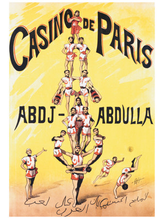 Casino de Paris reproduction procd gicle