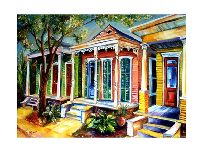 New Orleans, Plain & Fancy Prints by Diane Millsap