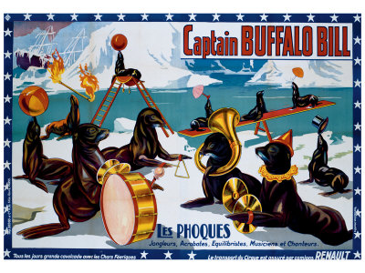 Captain Buffalo Bill Giclee Print
