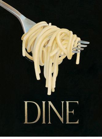 Gourmet Pasta Kunsttryk