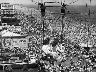 Coney Island View, New York, New York, c.1957 Photographic Print