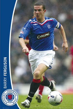 Rangers-  Barry Ferguson Photo