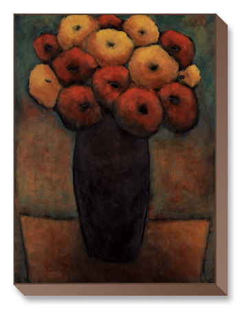 Table Orange Limited Edition on Canvas by H. Alves