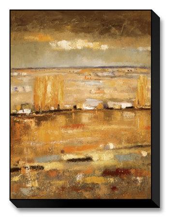 Dreams of Poplars I Limited Edition on Canvas by Santiago Izquierdo