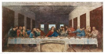 最後の晩餐, 1498 ジクレープリント