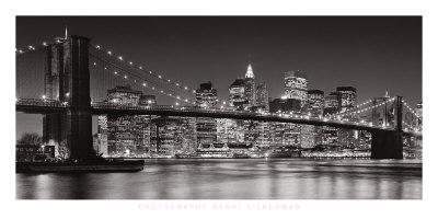 Brooklyn Bridge, 2007 Prints by Henri Silberman
