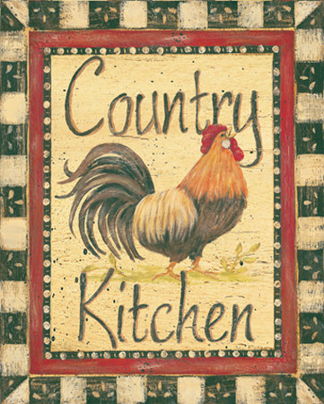 Country Kitchen Sanatsal Reprodüksiyon