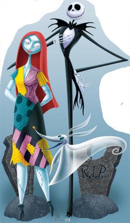 Jack Skellington And Sally Cardboard Cutouts