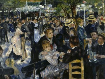 Le Moulin de la Galette, c.1876 Giclee Print by Pierre-Auguste Renoir