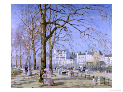 Hyde Park reproduction procédé giclée