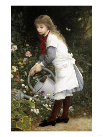 In the Secret Garden Giclee Print by Gustave Doyen