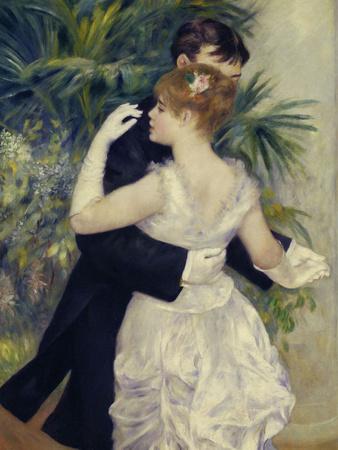City Dance, c.1883 Giclee Print by Pierre-Auguste Renoir