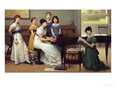Home, Sweet Home (detail) Giclee Print by George Dunlop Leslie