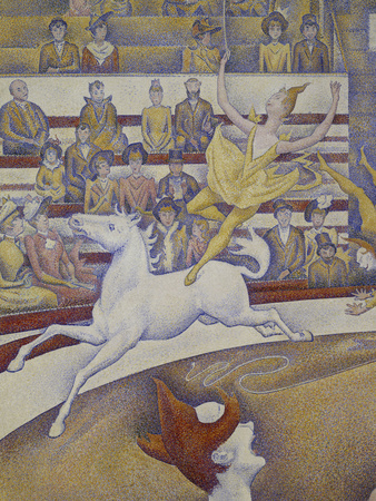 The Circus, c.1891 Giclee Print by Georges Seurat