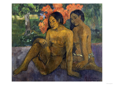 And the Gold of their Bodies, c.1901 Giclee Print by Paul Gauguin