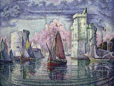 The Port of la Rochelle, c.1921 Giclee Print by Paul Signac