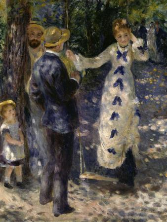 The Swing, c.1876 Giclee Print by Pierre-Auguste Renoir