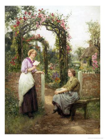 The Love Letter Giclee Print by Henry John Yeend King