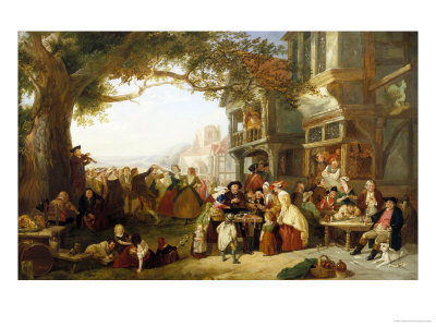 Midsummer Fair Giclee Print by Charles Hunt