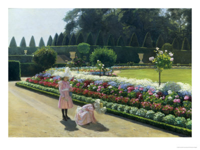 Au parc reproduction procédé giclée