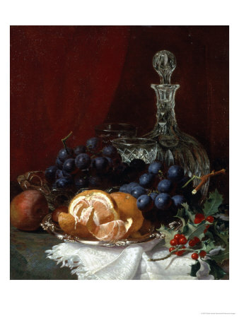 Christmas Table Giclee Print by Eloise Harriet Stannard