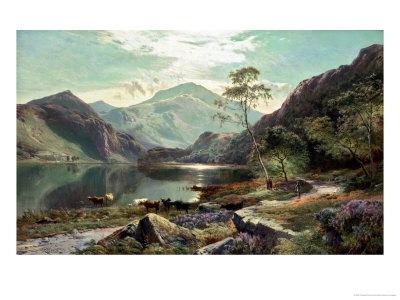 Loch Lomond, c.1871 Giclee Print by Sidney Richard Percy