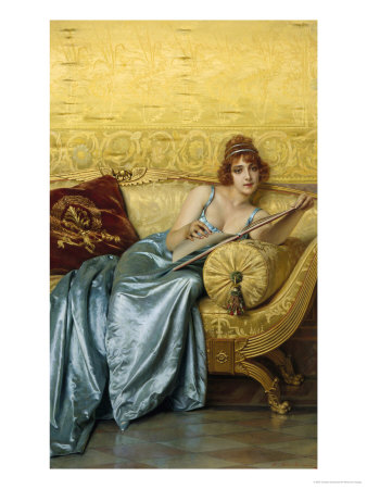 Lady of Leisure reproduction procédé giclée