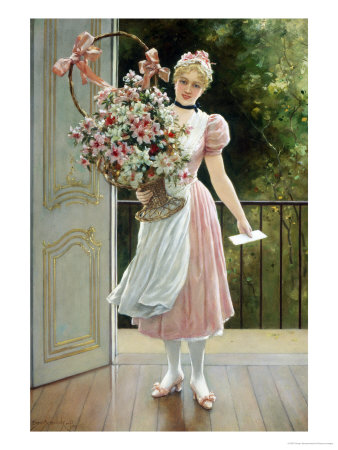 Beautiful Bouquet Giclee Print by Eisman Semenowsky