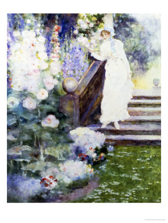 Lady Hamilton at Merton Giclee Print by David Woodlock