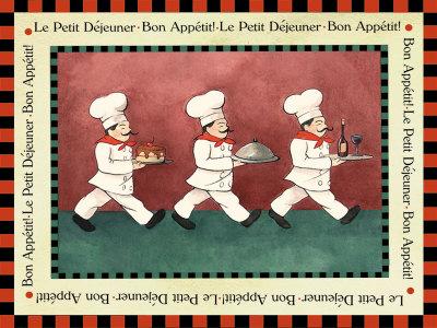 Le Petit Dejeuner Photographic Print by Elizabeth Garrett