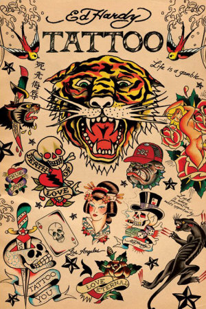Japanese Tattoo Posters by