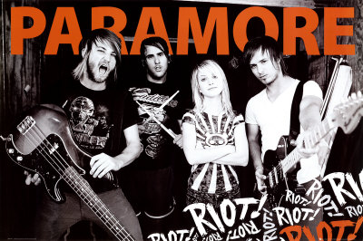 Paramore Juliste
