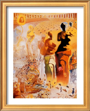 the hallucinogenic toreador wallpaper. The Hallucinogenic Toreador, c.1970 Framed Art Print