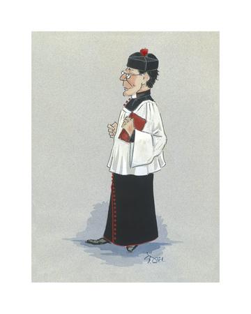 The Monseignor Premium Giclee Print by Simon Dyer