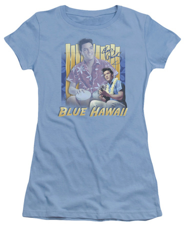 Juniors: Elvis - Blue Hawaii T-Shirt