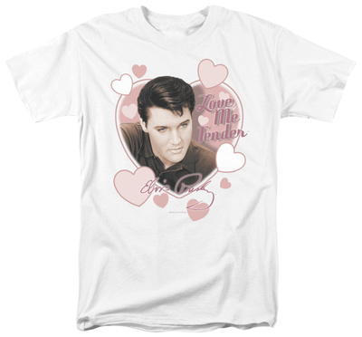 Elvis - Love Me Tender T-shirts