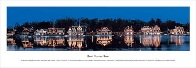 Boat House Row Print by James Blakeway