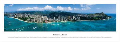 Honolulu, Hawaii Posters by James Blakeway