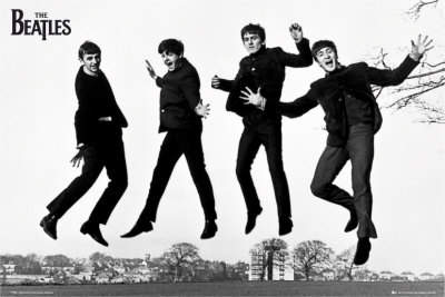 The Beatles- Jump 2 Kunstdrucke
