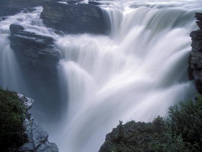 Jasper Canada on Athabasca Falls In Jasper National Park  Canada L  Mina Fotogr  Fica