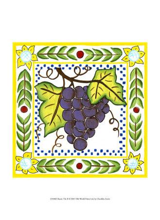 Rustic Tile II Prints by Chariklia Zarris