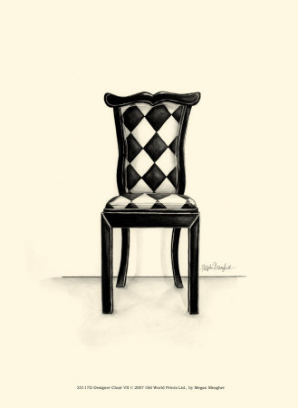 Designer Chair VII Art Print