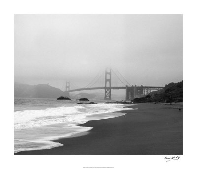 Golden Gate Bridge II Giclee Print by Bradford Smith