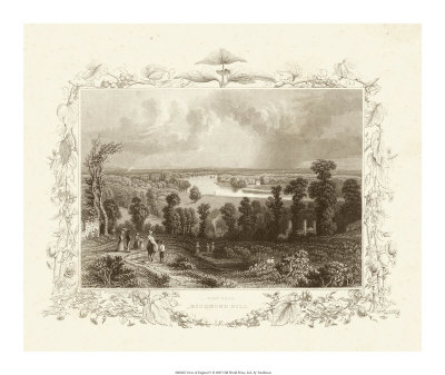 Views of England V Giclee Print by William Tombleson