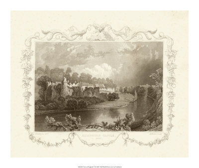 Views of England VI Giclee Print by William Tombleson