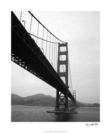 Golden Gate Bridge III Giclee Print by Bradford Smith