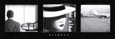 Airport Poster von Jacques Valot